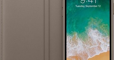 чехол Folio для iPhone X платиново серый цвет 380x200 - Apple iPhone XR 256GB Yellow (Желтый) Dual Sim
