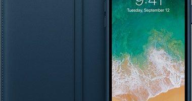 чехол Folio для iPhone X цвет «космический синий» 380x200 - Apple iPhone X 64Gb Space gray