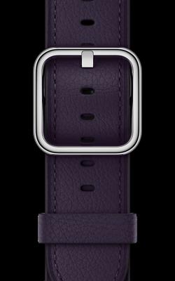 баклажанового цвета с классической пряжкой MQV12 MQV42 250x400 - Аксессуары для Apple watch