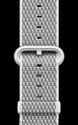из плетёного нейлона белого цвета MQVA2 MQVL2 250x400 - Аксессуары для Apple watch