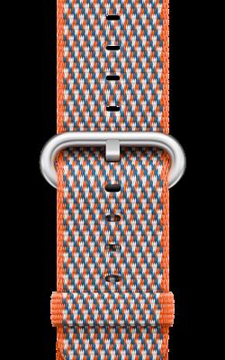 из плетёного нейлона цвета оранжевый шафран MQVP2 MQVP2 250x400 - Аксессуары для Apple watch