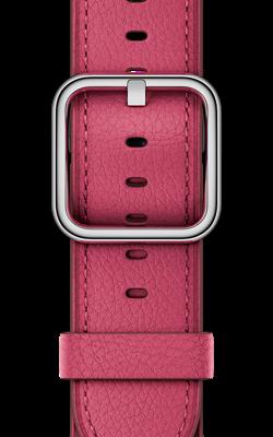 цвета розовая фуксия с классической пряжкой MQUY2 MQV22 250x400 - Аксессуары для Apple watch