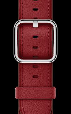 PRODUCT RED рубинового цвета с классической пряжкой MR392 MR3A2 250x400 - Аксессуары для Apple watch