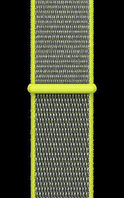 браслет цвета желтый неон MQW32 MQWE2 250x400 - Аксессуары для Apple watch