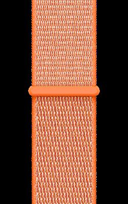браслет цвета оранжевый шафран MQW12 MQWC2 250x400 - Аксессуары для Apple watch