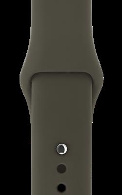 ремешок тёмно оливкового цвета MQUL2 MQUQ2 250x400 - Аксессуары для Apple watch