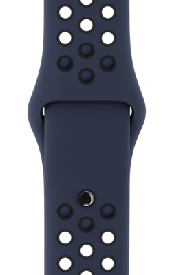 ремешок Nike цвета обсидиан чёрный MQ2P2 MQ2X2 250x400 - Аксессуары для Apple watch