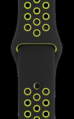 ремешок Nike цвета чёрный салатовый MQ2H2 MQ2Q2 250x400 - Аксессуары для Apple watch