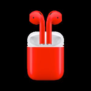 Apple AirPods красный aa 300x300 - Аксессуары iPhone X