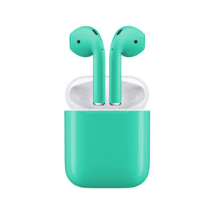Apple AirPods мятный aa 300x300 - Аксессуары iPhone X