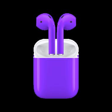 Apple AirPods фиолетовый aa 380x380 - Наушники Apple
